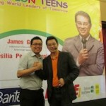 Stevan Oka with James Gwee